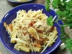 Myllymäkis kantarellpasta med kyckling | Recept.nu