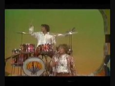Keith Moon´s drum kit explodes...See many fine music pins on my board MUSIC..