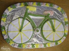 Our HELP Project got into the spirit with this bicycle cake Bicycle Cake, Yorkshire, Spirit, Projects, Log Projects, Blue Prints, Yorkshire Terrier Puppies