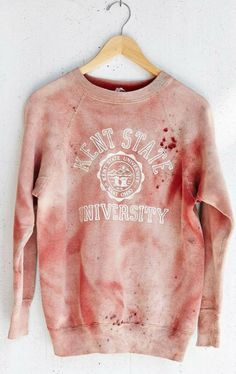 26 Times Urban Outfitters Failed So Hard It Just Failed. -------Racism, sexism and just plain ignorant insensitivity. Ohio, Urban Outfitters, Kent State University, University Style, Offensive Shirts, Piece Of Clothing, Graphic Sweatshirt, Things To Sell, Sweater
