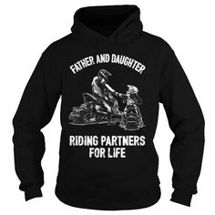 Father And Daughter Riding Partners For Life  Snowmobile TShirt LIMITED TIME ONLY. ORDER NOW if you like, Item Not Sold Anywhere Else. Amazing for you or gift for your family members and your friends. Thank you! #ride #shirts