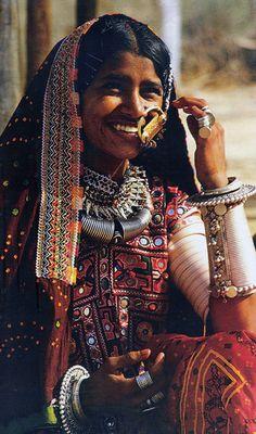 India | Rajasthani woman | via Gaurav Sharma's flickr stream