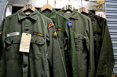 US Army Vintage L/S 2Pocket Utility Shirt