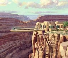 Skywalk at the Grand Canyon...I conquered the glass ledge on the Sears (Willis) Tower in Chicago, so this is next!