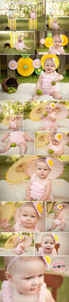Lemonade Stand Mini Session Shyanne | Miami Child Photographer, Photography