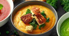 Sárgaborsó főzelék – ha így készíted, mindenki imádni fogja | Femcafe Lentils, Thai Red Curry, Vegan, Ethnic Recipes, Food, Lenses, Eten, Lens, Meals