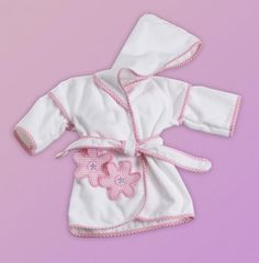 Personalized pony bath cover up ponies cover up and bath made in the usa this cute hooded baby girl robe has an adorable embroidered flower design can be personalized with baby s name too gift wrapped ships negle Images