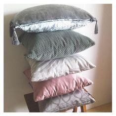 EVY Home Decor handmade décor pillow covers & pillows Handmade Pillows, Handmade Home Decor, Handmade Decorations, Bed Pillows, Cushions, Decorative Pillow Covers, Knitted Blankets, Pillow Cases, House Design