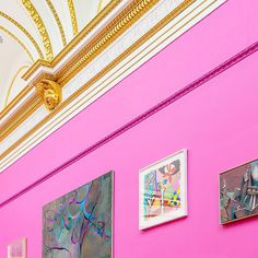 Pink and gold // #minimallondon