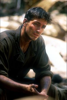 Jim Caviezel as Pvt. Witt in The Thin Red Line (1998)