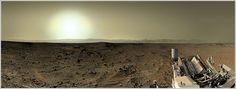 Postal de Curiosity en el sol 409