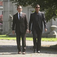 Jim Caviezel and Michael Emerson in Person of Interest