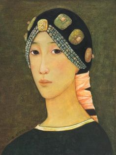 RESTRAINED BEAUTY, Xue Mo (薛墨; b1966, Inner Mongolia, China; since 2011 based in Canada)