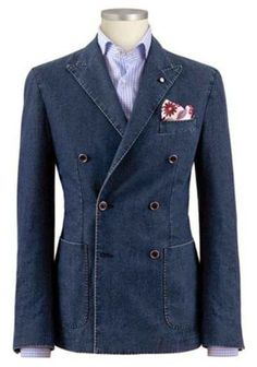 Fashion & style. Denim jacket. Elegant and original