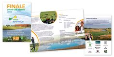 Lay out brochure for HvR Golf Management / Soccer Golf Masters 2015