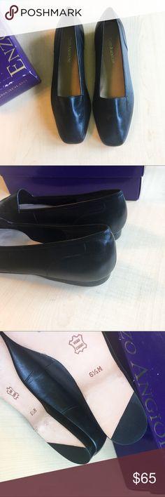 Enzo Angiolini Leather Flat Slip On Shoes Enzo Angiolini Leather Flats 6.5 W/Box Never been worn! Enzo Angiolini Shoes Flats & Loafers