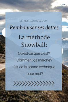 Rembourser ses dettes avec la méthode Snowball