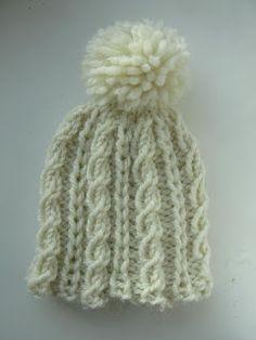 Supercosy Baby Hat Knitting Pattern #knitting