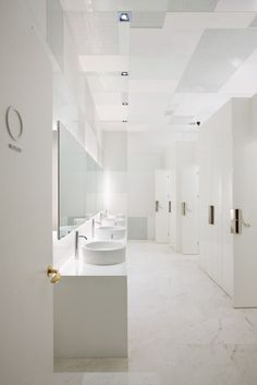 The Opposite House Restauraunts//  beijing china// women's restroom// neri & hu design and research office