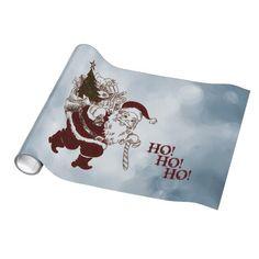 new at @zazzle_inc : #Santa Claus 2 #Gift #Wrap