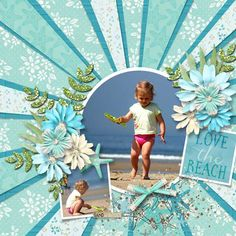 Coastal Collection by Lindsay Jane - Scrapbook.com
