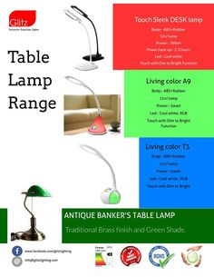 check out table lamps for living room