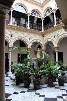 Hotel Palacio de Villapanés in Sevilla, Andalucia (Spain)