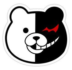"""Danganronpa Monokuma "" Stickers by Chimmferno Kawaii Stickers, Anime Stickers, Laptop Stickers, Cute Stickers, Monokuma Danganronpa, Collage Mural, Fan Art Anime, Anime Crafts, Tumblr Stickers"