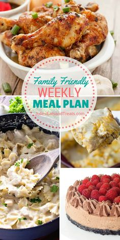 Julie's Easy Meal Plans ~ Simple every day meals for the busy family! Simple, Easy