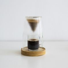 Manuel Coffeemaker is a minimalist design created by USA-based designer Craighton Berman Studio. Coffee is best when it's carefully prepared one cup at a time. Much like other culinary pursuits, the craft of preparing coffee can be just as enjoyable as the end product. MANUAL is a 'slow coffee' appliance that was designed to quietly sit on your countertop and provide the control of the pour-over brewing process in a single-cup preparation. (6)