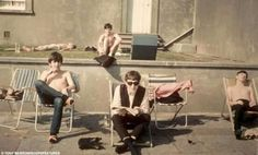 Why John is the only one who is dressed?