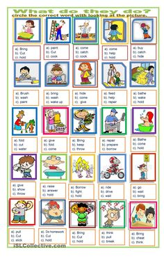 action words exercise