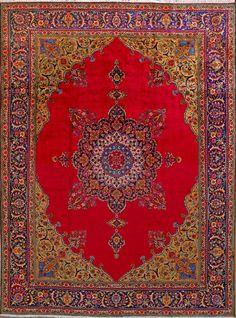"""Tabriz Persian Rug - 9' 6"""" x 12' 10"""""""