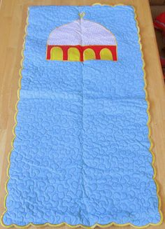 Handmade Kid's prayer rug. No tutorial.
