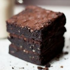A truly divine brownie that's vegan and gluten-free