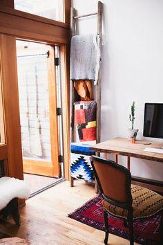 A Designer's Gypsy Bohemian Seattle Apartment || Glitter, Inc.