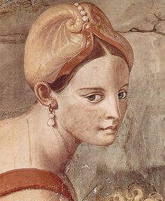 Agnolo Bronzino - Il passaggio del Mar Rosso - particolare -