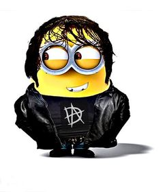 OMG... A DEAN AMBROSE MINION... YAY!<------life is now complete