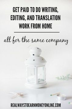 writing and editing jobs online