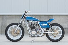 Street Legal: Paul Miller's Yamaha TT500 tracker