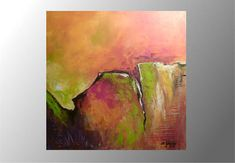 abstract acrylic painting by artbyMarGo on Etsy