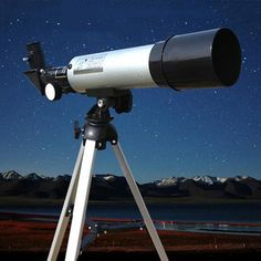 Buy Astronomical Telescope Refractor Type Space Telescope Tripod Small Refracting Spotting Scopes at Wish - Shopping Made Fun Camcorder, Refracting Telescope, Best Trampoline, Telescopes For Sale, Astronomical Telescope, Water House, Crisp Image, Space Telescope, Focal Length
