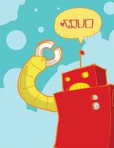 Inspiration: 20 nice examples of vector robots - Blog of Francesco Mugnai