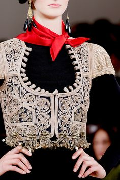 lovinng the bolero--will look soo awesome in an indian suit or just over a tshirt--Ralph Lauren Spring 2013