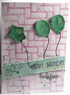 Karen's Crafting Obsessions: A stencil and a sketchy ...
