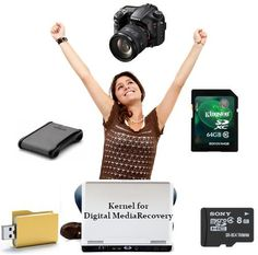 Quick Recovery for Kernel Digital Media Tools Recovers all Formatted,Deleted & Lost Data from Digital Media like Memory Card, Digital Camera, USB Drive, Micro SD Card, Pen Drive etc.