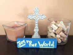 Joy to the World - wood art - home decor - CHRISTmas  etsy.com.shop/ShareHisBlessings  Thanks for viewing my work! I can customize all my projects to fit your style. Let me know if you are looking for a certain color, size or phrase – I'd be happy to make it just for you! Stay Blessed..