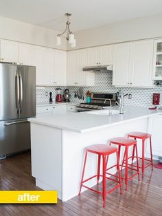 Kitchen Before & After: A Smart, Stylish, and Budget-Friendly Kitchen Update for $5,500 — Reader Kitchen Remodel