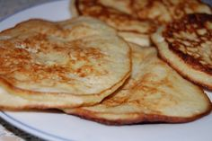 Čo banán, to jedno vajíčko - to je všetko :), fotogaléria 1 / Russian Recipes, Italian Recipes, Griddle Cakes, Pancakes, Dessert Recipes, Food And Drink, Low Carb, Gluten Free, Cooking Recipes