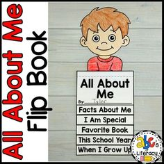 Are you looking for a fun, back-to-school activity for your students to do during the first week of school? Your students can share all about themselves in this All About Me Flip Book. This easy, back-to-school craft lets kids practice drawing, writing, cutting, and following simple directions too. ...
